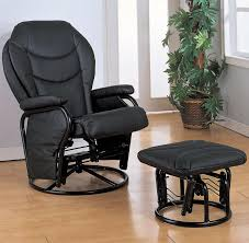 Swivel Rockers With Ottomans Black Swivel Rocker Recliner With Ottoman House Plan And Ottoman