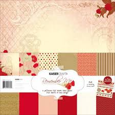 kaiser craft remember me collection paper pack