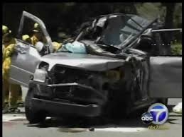 deadly head on crash on orange grove in pasadena youtube