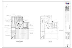 floor plan with roof plan portfolio