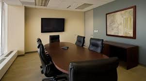 conference room basics with screen speakerphone office miami