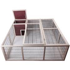 6 Rabbit Hutch Petsfit 63 8 X 23 6 X 63 4 Inches Outdoor Rabbit Hutch Outdoor