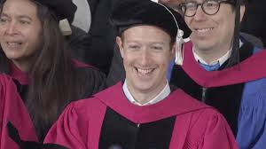 mark zuckerberg gets his harvard degree after dropping out 12