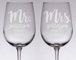 how to personalize a wine glass wedding wine glasses etsy