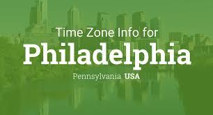 Time Zone Map Us by Daylight Saving Time Dates For Usa U2013 Pennsylvania U2013 Philadelphia