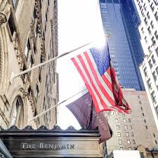 The Flag Of New York Need A Good Night U0027s Sleep Check In To The Benjamin In New York City