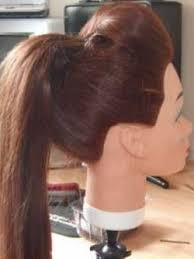 ponytail bump how to do a ponytail with a bump the sleek ponytail julie