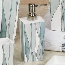 Shell Bathroom Accessories by Tidelines Abstract Bath Accessories By Shell Rummel