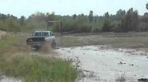 1977 Ford Truck Mudding - 1975 f250 highboy 390 fe bigblock mudding part 1 youtube