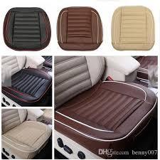 auto interior pad mat 50x50cm pu leather car cushion seat chair