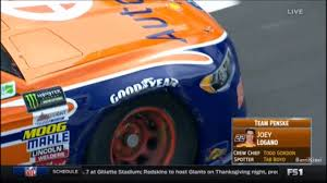 thanksgiving sports schedule nascar cup series bristol 2017 practice 1 logano crashes youtube
