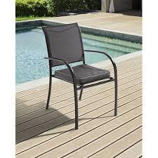 galette de siege galette de chaise de jardin coussin fauteuil hespéride