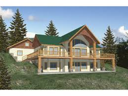 basement house plans hillside house plans house plans for