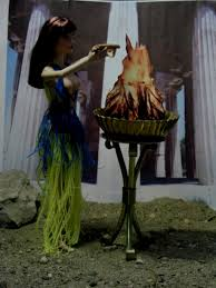 hestia goddess of the hearth the role of women in the art of