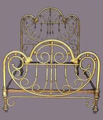 Brass Bedroom Furniture by Art Nouveau Brass Bed Frame For The Home Pinterest Bed