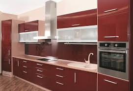 Kitchen Cabinets With Frosted Glass Kitchen Kitchen Interior Contemporary Kitchen Cabinet With