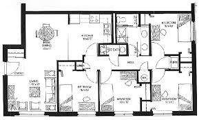 Typical Floor Plans Of Apartments Commons Apartments On Home Street And Park Street