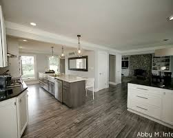 Kitchen With Grey Floor by Outstanding Grey Wood Floors Kitchen Charming Ideas 53 Spacious