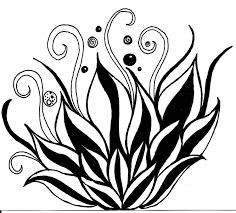 lotus flower line drawing free download clip art free clip art