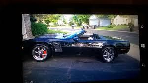 black on black corvette 1993 corvette convertible for sale minnesota 1993 black on black