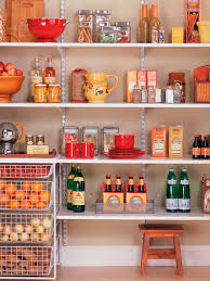 kitchen closet shelving ideas pantry organization and storage ideas hgtv
