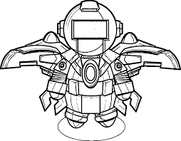 robot coloring pages for toddlers coloringstar