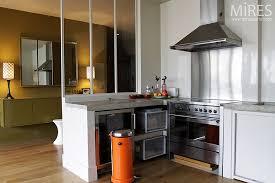 hotte cuisine ouverte cuisine ouverte moderne c0121 mires