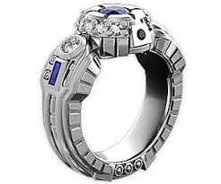 r2d2 wedding ring r2d2 engagement ring buy this bling