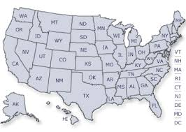 map of us without names of the united states of america without names