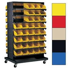 Storage Bin Shelves by Quantum Storage Systems Pick Rack Sloped Shelving System U2013 80 Bin