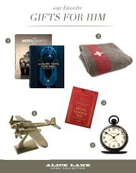 Gifts For Him by Our Top 5 Favorite Gifts For Him Alice Lane