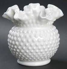 Hobnail Vase Fenton Hobnail Milk Glass At Replacements Ltd Page 2