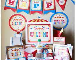 Circus Birthday Decorations 100 Circus Clown Carnival Tickets Circus Theme Party