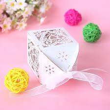 aliexpress com buy new 50pcs love heart laser cut candy gift