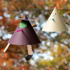 this witch and ghost are not mere static decorations they fly
