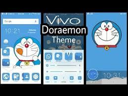 download themes doraemon vivo phone theme doraemon blue edition youtube