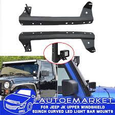 Mounting Brackets For Led Light Bar Fit 07 16 Jeep Jk 52