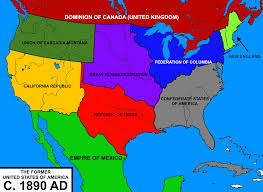 Confederate States Map by Yet Another Balkanized Usa Alternatehistory