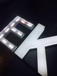 backlit halo lit letters letters u0026 logos gemini