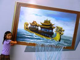 3d optical illusion paintings