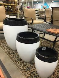Black And White Planters by How To Make A Potted Herb Garden