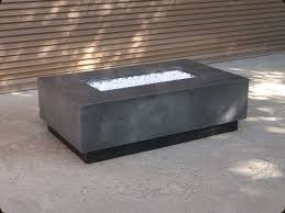 Floating Fire Pit by Concrete Pete U2013 Rectangular Firepit Raleigh Nc
