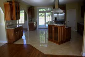 tiled kitchen floors ideas top ideas of travertine tile kitchen floor ideas in new york