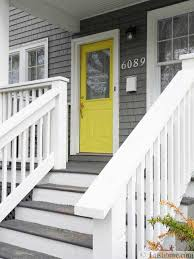 front door color and neat yard lndscaping ideas simple home