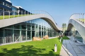 designboom green school green roofs are changing architecture here s a whole school built