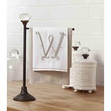 amazon com mud pie towel holder decorative door knob accent home