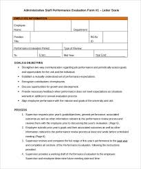 employees information sheet 22 appraisal letters free sample example format free