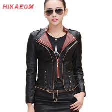 womens motorcycle apparel online buy wholesale leather jacket women from china leather