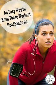 workout headbands fit tip friday an easy way to keep those workout headbands on