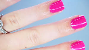 how to give yourself a manicure sarah pope youtube